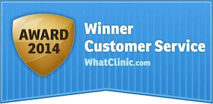 WhiteZone Dental received Customer Service Award